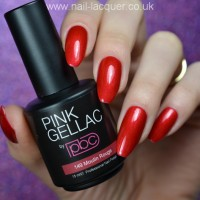 Pink Gellac review by Nail lacquer UK| Christmas Nails
