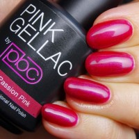 Pink Gellac review by Love Life Lacquer| 104 Passion Pink
