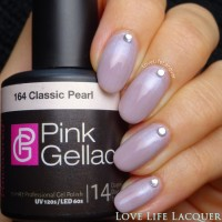 Pink Gellac review by Love Life Lacquer| Ruffian Nail Art