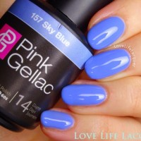 Pink Gellac review by Love Life Lacquer  Spring Collectie