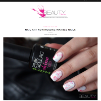 Pink Gellac Review by Beautyill | Nail Art Koningsdag
