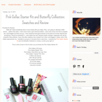 Pink Gellac Review by Ida Nails It | Pink Gellac starterset & Butterfly collection