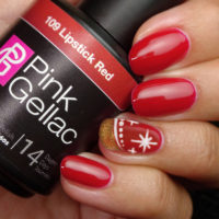 Kerst nail art by Puck