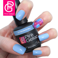 Patched Nails met de Pink Gellac Cruise Collection