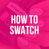 How to swatch Pink Gellac gel nagellak