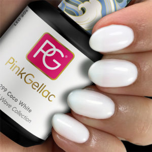 Pink Gellac 299 Coco White